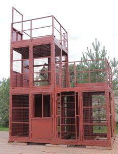 Тренажер для спасателей и пожарных «КУБ-3»