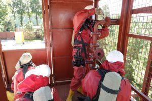 Тренажер для спасателей отработка навыка работы с арматурой