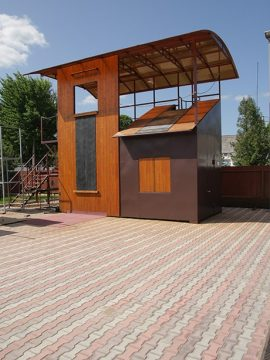 Универсальный тренажерный комплекс для спасателей и пожарных (УТКС)