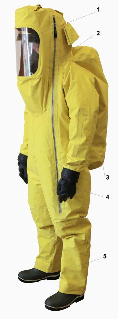 Костюм изолирующий химический КИХ-4Т