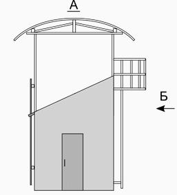 Тренажерный комплекс спасателя вид сбоку