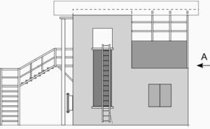 Тренажерный комплекс спасателя вид спереди