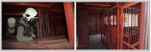 Тренажерный комплекс спасателя лабиринт ориентирования