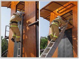 Тренажерный комплекс спасателей спуск и подъем